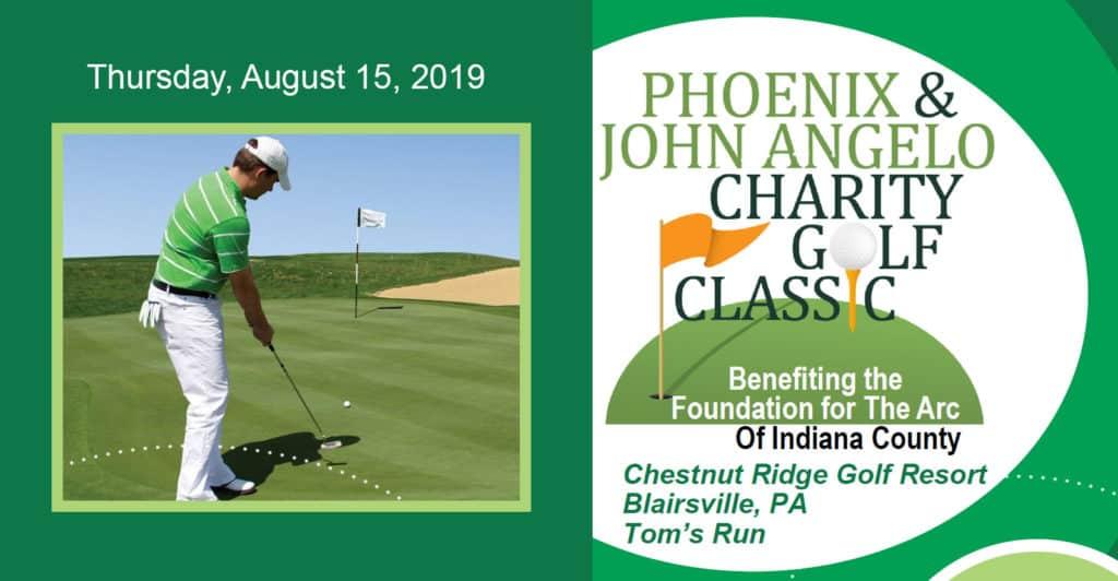PHOENIX & John Angelo Charity Golf Classic. Chestnut Ridge Golf Resort & Conference Center (Blairsville, PA).